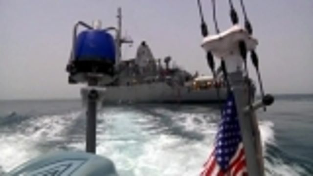 News video: U.S., allies take part in Gulf naval drill
