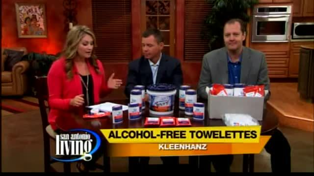 News video: Hand Sanitizer With No Alcohol