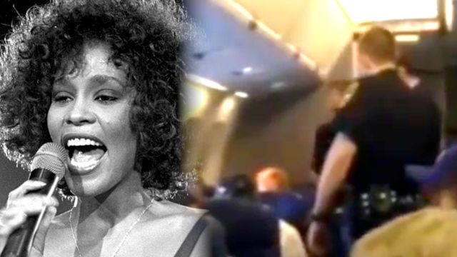 News video: Woman Grounds Airplane With Horrible Whitney Houston Rendition